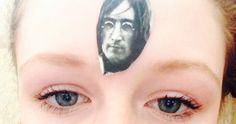 John Lennon and me eye