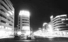 Bucuresti - Bulevardul Bratianu - 1937 Capital Of Romania, Little Paris, Bucharest Romania, Timeline Photos, Photo Archive, Time Travel, Wonderful Places, Digital Photography, Old Photos