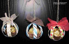 Süße Weihnachtskugel