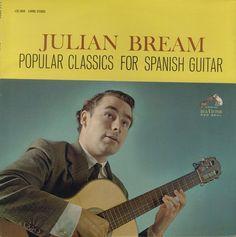 "Julian Bream ""Popular Classics For Spanish Guitar"" 1964"