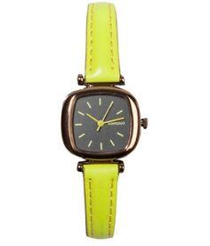 Komono - Moneypenny Watch (Dayglow Yellow) - $60