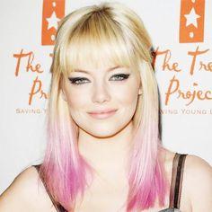 Karen gillan ideas de color de cabello en 2016 #cabello #color #gillan #ideas #karen Pink Blonde Hair, Pink Ombre Hair, Pastel Hair, Pastel Pink, Karen Gillan, Hair Color Highlights, Hair Color Balayage, Hair Colour, Zooey Deschanel