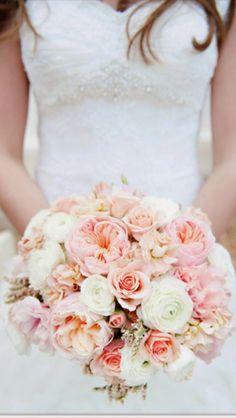 Pellmell Créations: Le bouquet de la mariée