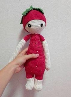 Dia-He / Háčkovaná bábika, jahoda