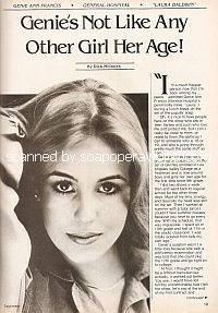 Interview with Genie Francis (Laura on General Hospital) Genie Francis, Francis I, Best Love Stories, Love Story, Tony Geary, Laura Spencer, Luke And Laura, Medical Drama, Tv Soap