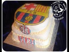 TORTY * CIASTECZKA * BABECZKI - AGATA ANDRYS: TORT Z HERBEM FC BARCELONA NA 18 URODZINY / FCB cake