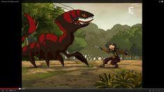 Chasseurs de Dragons, series Dragon Hunters, Films, Painting, Art, Spongebob, Hunters, Dragons, Movies, Art Background