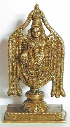 Lord Venkateshwara (Balaji) (Brass)