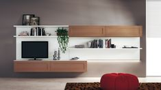 Mobili zanette ~ Tv wall cabinet by zanette lacquered finish available at