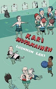 Kari Hotakainen: Luonnon laki (Siltala Publishing Read in January Loved the story and of course the cover art by Elina Warsta. Reading Lists, Cover Art, Books To Read, Family Guy, Comics, Movie Posters, Fictional Characters, January, Film Poster