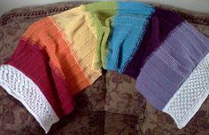 Free Knit Shawl Patterns, Prayer Shawl Patterns, Stitch Patterns, Crochet Patterns, Knitted Dude Dolls, Easy Knitting, Knitting Ideas, Aran Weight Yarn, Knit Or Crochet