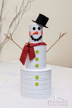 Creative homemade Christmas decorations, easy and cheap.