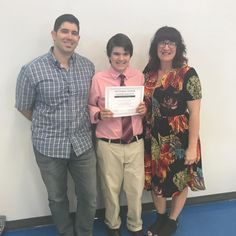 So proud of this guy here in the middle... he joined the National Junior Honor Society today. Way to go Connor!  #njhs #futurenerd #nerdalert #nerdsarecool #proudmom