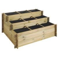 CARRÉ POTAGER - TABLE Carré potager 3 étages bois autoclave JARDIPOLYS
