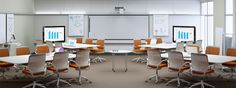 Steelcase LearnLab with MediaScape tables.