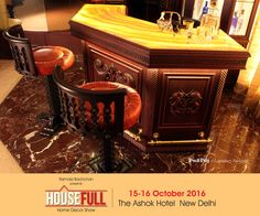 Doesn't this glamorous bar counter make you wish you were partying here?  #HouseFull #HouseFullExhibition #BarCounter #Delhi #DelhiExhibition #Shopping #HouseFull2016
