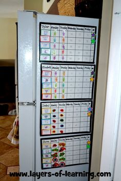 Housekeeping and Homeschooling - chore charts Love the charts great for rotating plus could get kids excited about the stickers