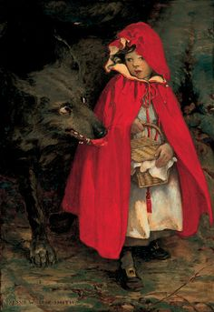 Little Red Riding Hood by Jessie Willcox Smith - Copyright Lucas Cultural Arts Museum