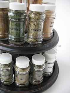 diy spice rack idea