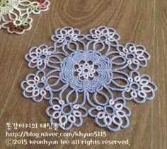 [태팅레이스] 꽃부케 1라운드만,tattinglace : 네이버 블로그