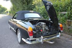 Tastefully modified and an asset to any new owner's fashion credentials. Volkswagen Karmann Ghia, Vw, Karmann Ghia Convertible, Little Sport, Classic Motors, Car Manufacturers, Vintage Cars, Porsche, How To Memorize Things