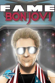 Jon Bon Jovi stars in a new comic book