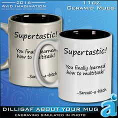 This Funny Mug is a true Multitask Gift for Him by AvidImagination