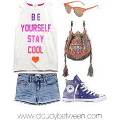 Tween fashion Be you by cloudybetween on Polyvore featuring Converse, Free People, Full Tilt and Forever 21
