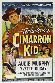 Audie Murphy in ''The Cimmaron Kid '' 1952