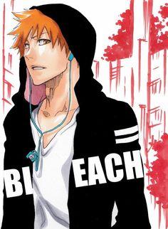 Kurosaki Ichigo, you're gorgeous! Ichigo Manga, Manga Bleach, Ichigo And Orihime, Rukia Bleach, Bleach Fanart, Me Anime, Fanarts Anime, Anime Manga, Anime Guys