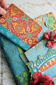 My Sisters Bohemian Journal using Bohemian Bazaar by Jennifer Boyd #graphic45