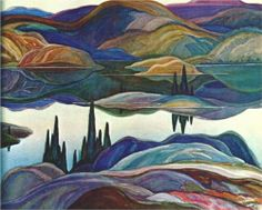Mirror Lake - Franklin Carmichael 1929