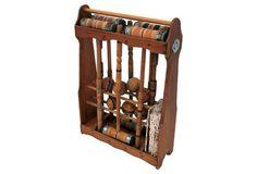 Croquet Set w/ Handmade Stand | One Kings Lane