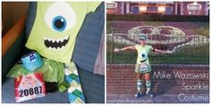 Mike Wazowski Costume via Katrina Elle