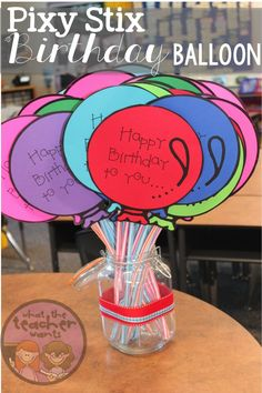 When a student in my classroom has a birthday we like to celebrate!  Besides getting a birthday necklace to wear, they also get a birthday ...