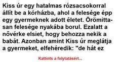 Kiss úr egy hatalmas rózsacsokorral állít be a kórházba - Ezt Nézd Meg Kiss, Kisses, A Kiss