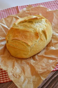 Garlic Bread, Croissant, Creative Food, Bread Recipes, Food And Drink, Tasty, Health, Fimo, Bakken