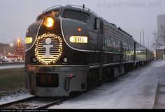 RailPictures.Net Photo: IC 101 Illinois Central Railroad EMD E9(A) at Clifton , Illinois by Kevin Andrusia