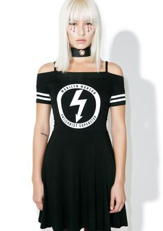 b8fea2ea66 Killstar Marilyn Manson Gloom Bardot Dress Bardot Dress