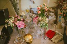 wedding decor - photo by Ellie Gillard http://ruffledblog.com/bohemian-london-wedding