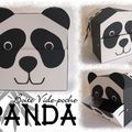 VIDE-POCHE PANDA - Créations pour enfants et +