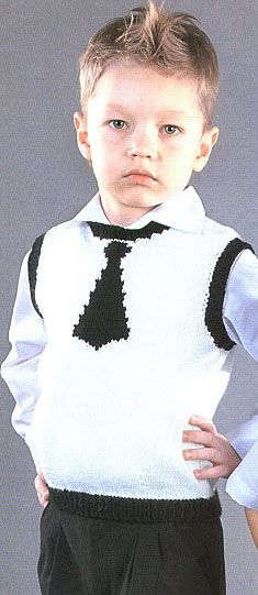 The original vest and tie **I can picture this in different colours. So cute**