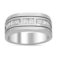 Artistry Collections 18k Gold Men's 1 1/4ct TDW Diamond Ring (F-G, VS1-VS2) (Size )