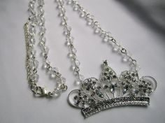 Princess Necklace  Little Girls, Girls, and Teens Jewelry on Etsy, $22.00