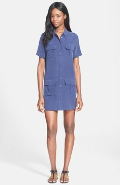 Equipment 'Remy' Shirtdress available at #Nordstrom