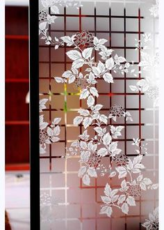 20 Ideas Frosted Glass Door Design Wall Colors For 2019 Glass Film Design, Window Glass Design, Glass Partition Designs, Frosted Glass Design, Living Room Partition Design, Glass Partition Wall, Frosted Glass Door, Door Design, Wall Design