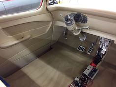 1955 Chevy Truck built by East Coast Muscle Cars Bux Customs Hot Rod Interiors