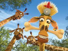 Jirafa de Madagascar Melman