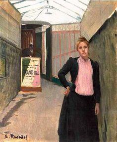 Santiago Rusiñol - The Grand Ball, 1891