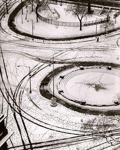 Le curieux Monsieur Cocosse | Journal: Washington Square | André Kertész,1953 -70
